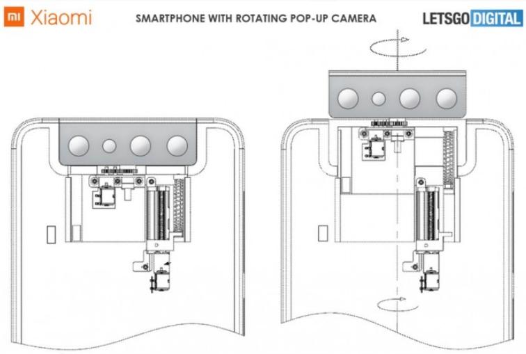 小米申请摄像头模块可升降并旋转的专利