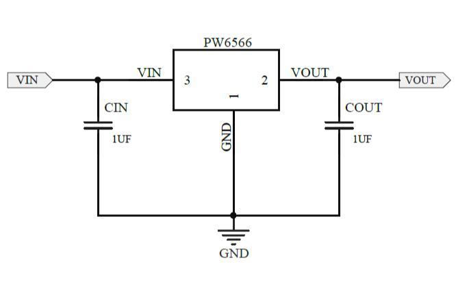 PW6566 低功耗低壓差CMOS穩壓器的數據手冊免費下載