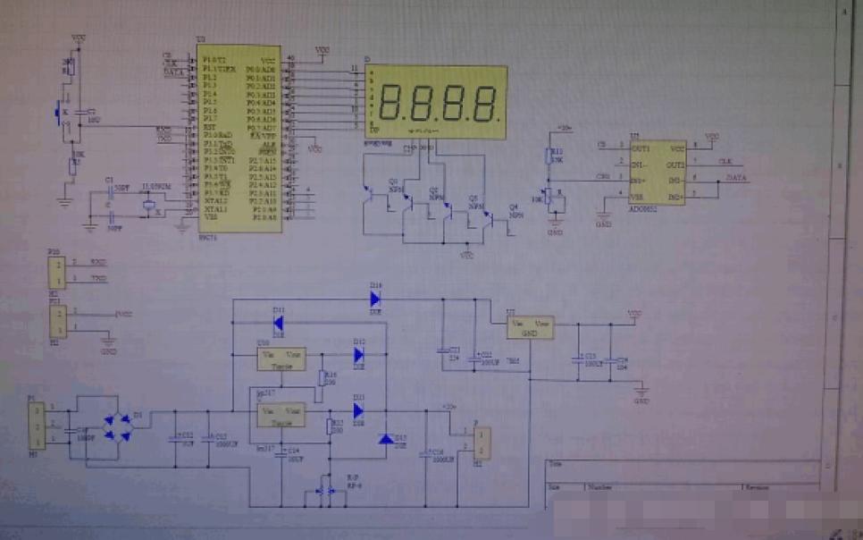 单片机控制的可调直流稳压电源的设计与制作论文免费下载