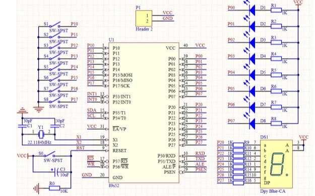 电子线路CAD设计的上机模拟考试试题免费下载