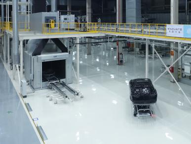 杜尔为天际汽车建造可扩展的涂装车间