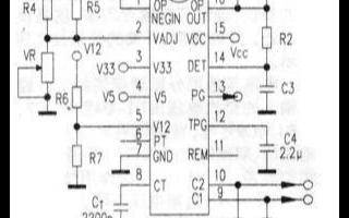 专用控制芯片AT2005B的性能特点及在ATX电源中的设计方案