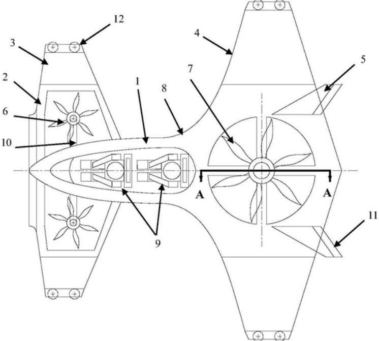 国产新型城市空中飞行汽车相关专利曝光