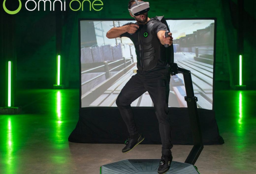 Virtuix筹集1100万美元用于研发VR跑步机?