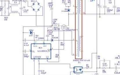 多功能器件ICE3BS03JG在中等功率应用的方案分析