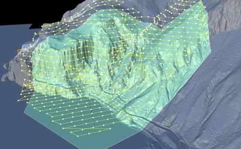 瑞士采用無人機和Hill Scan軟件平臺來提高線路的安全性