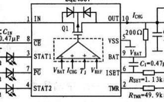 支持热调节功能的线性电池充电器提高系统安全性
