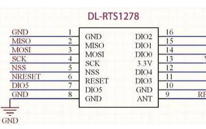 LoRa1278遠程擴頻無線模塊的數據手冊免費下載