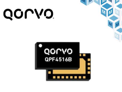 貿澤電子開售Qorvo QPF4516B Wi-Fi 6前端模塊