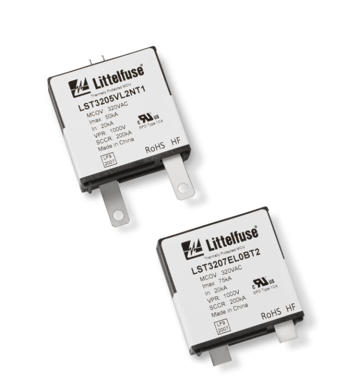 采用Littelfuse TMOV技術的LST壓敏電阻使浪涌保護器件更可靠