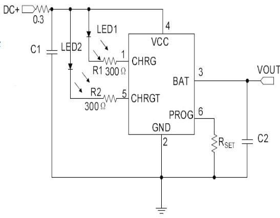 單節防反接線性鋰電池充電芯片HM5055