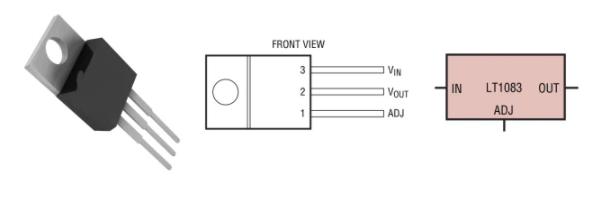 ADI LT1083稳压器的电源设计解决方案