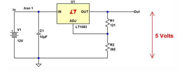 ADI LT1083穩壓器的電源設計解決方案