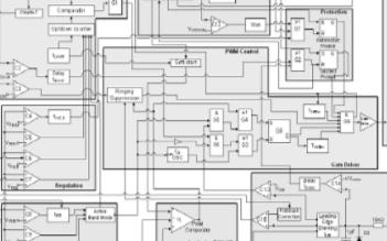 准谐振功率集成电路ICE2QR1765Z的特性及典型应用电路分析
