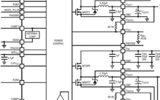 开关模式DC/DC转换器LTM4620的性能特性...