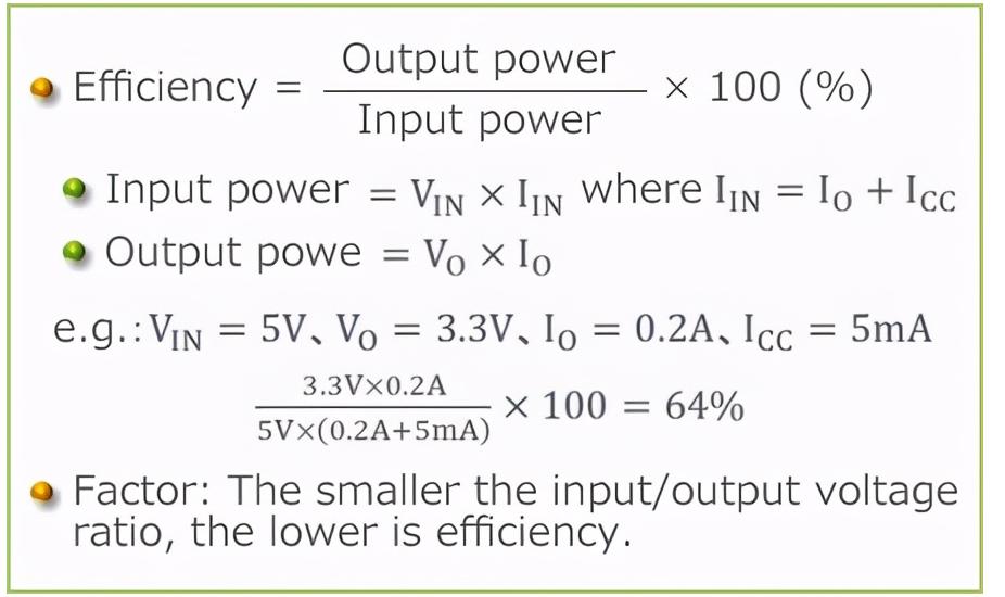LDO的效率问题以及如何计算LDO温升