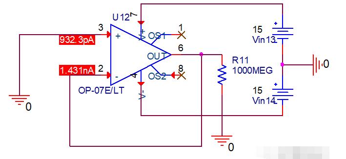 运放电路为什么要匹配电阻,输入偏置电流IB太大有什么后果