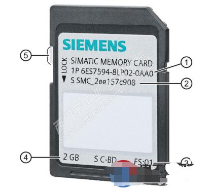 西門子S7-1500存儲卡的選擇和使用