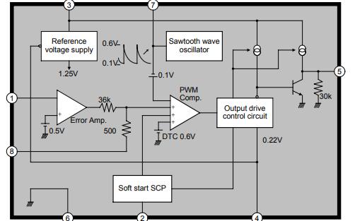HM4035升压转换控制芯片的数据手册免费下载