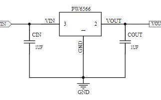 低消耗电流正电压型电压稳压器PW6566