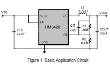HM3420S同步降压变换器的数据手册免费下载