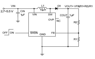 HM1621异步升压型稳压器的数据手册免费下载