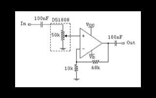 基于音频分压计DS1808实现音频应用系统的设计