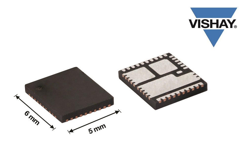 Vishay推出的新款高能效和高精度智能功率模塊可支持新一代微處理器