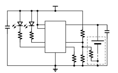 HM4056G线性锂离子电池充电器的数据手册免费下载