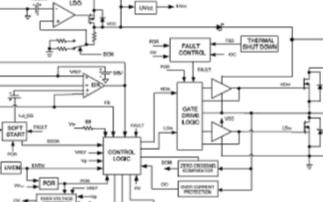同步降压DC / DC稳压器IR3895的主要特性及应用电路分析