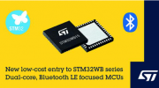 意法半导体推出STM32WB* Bluetooth? LE微控制器