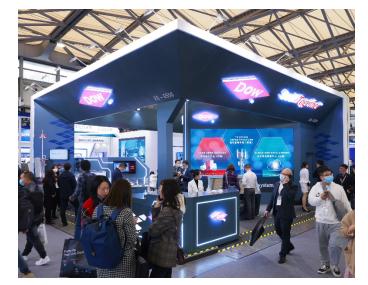 陶氏公司在2021慕尼黑上海電子生產設備展上帶來...