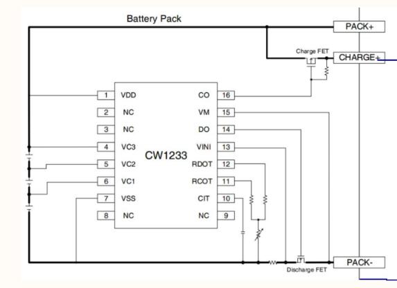 鋰電池充電電路圖如何設計三節鋰電池充電管理芯片電路圖解析