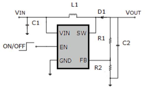 HM1535升压调节器芯片的数据手册免费下载