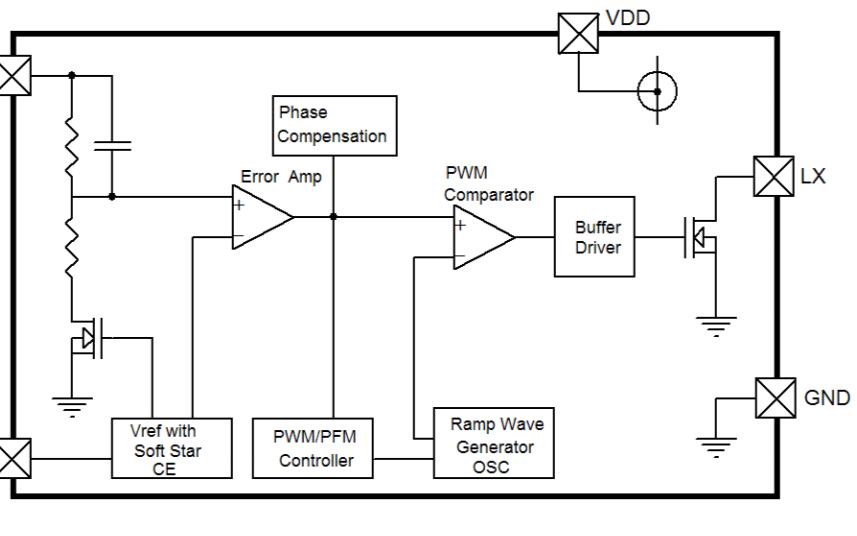 HM1534 CMOS升压开关稳压器的数据手册免费下载