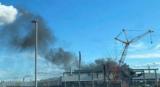 特斯拉位于美國加州弗里蒙特的工廠突發火災