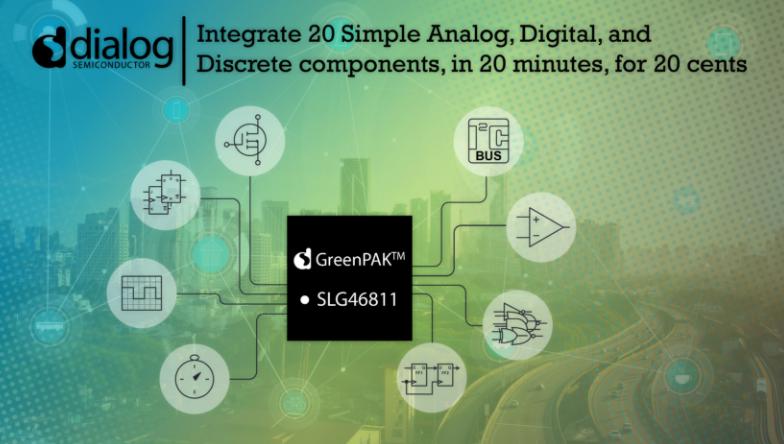 Dialog为最新纳安级GreenPAK?器件添加多通道输入功能