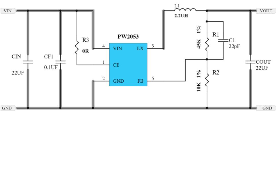 5V降壓轉3.3V和3V的芯片方案和電路圖說明