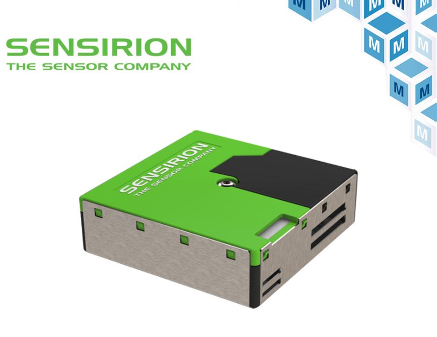 貿澤電子庫存全套Sensirion 環境傳感器
