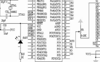 基于ATmega8535型单片机实现图形点阵式液晶显示系统的设计