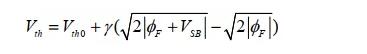一文解析MOS管的三个二级效应