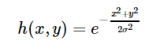 高斯滤波器的原理及其实现过程