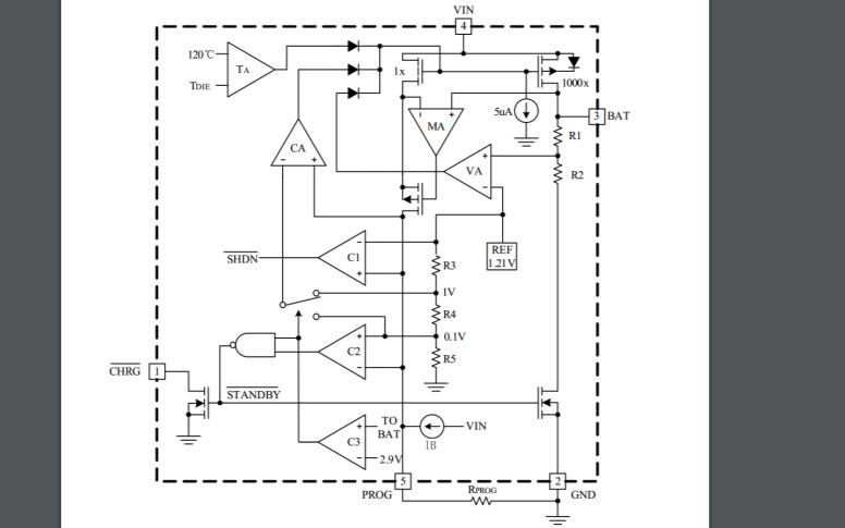 FS4054线性锂离子电池充电器的数据手册免费下载