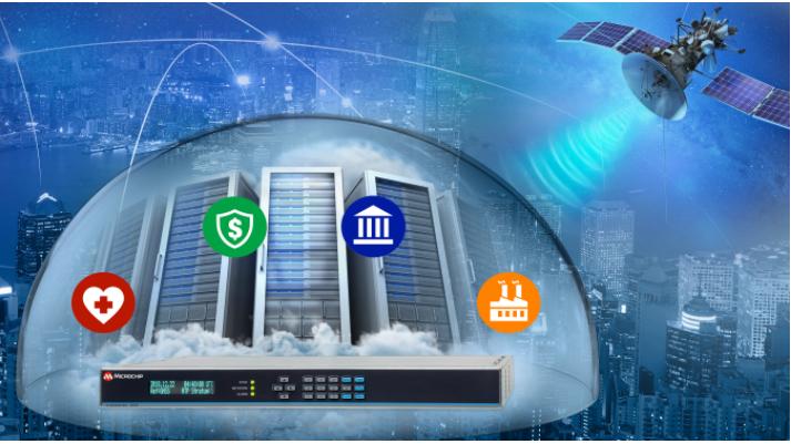 Microchip推出可防止GPS干扰和欺骗的新版SyncServerò S600系列时间服务器