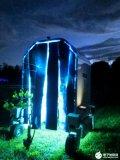 科學家研發出紫外線機器人,能有效消滅白粉病真菌