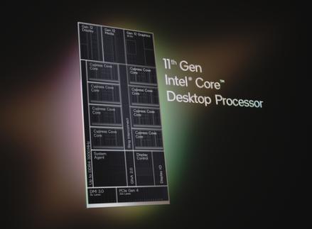 英特爾正式推出第11代Intel Core S系列桌上型處理器