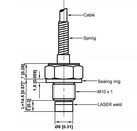 XPCM10高温微型压力传感器产品手册