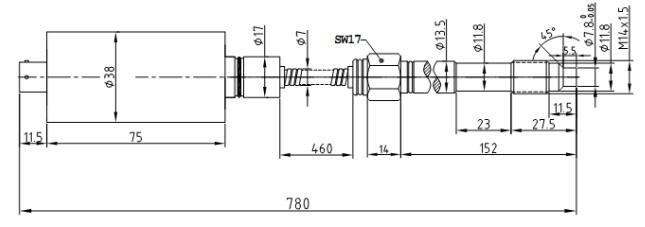 PTS124软管型---熔体压力传感器