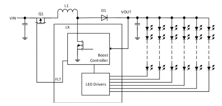 一種新型的LED升壓驅動器架構解析