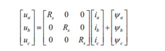 永磁同步电机控制系列的数学模型(1)